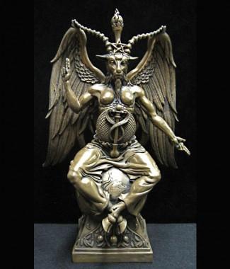 Baphomet-Statue-Cold-Cast-Bronze