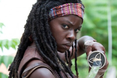 Michonne (Danai Gurira) - The Walking Dead - Season 3, Episode 1