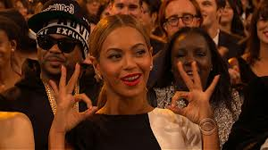 beyonce 666 hand sign 2013 grammy awards